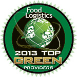 "Kane Is Able Named to Food Logistics' ""2013 Top Green Providers List"""