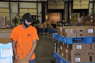 warehouse labor management image