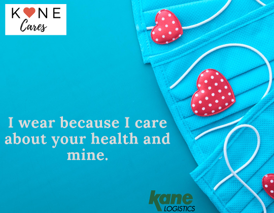 I wear because I care -- about your health and mine-1