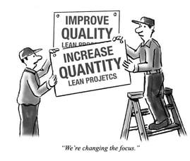 Lean logistics project focus